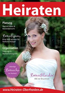Broschüre Heiraten in Oberfranken nach