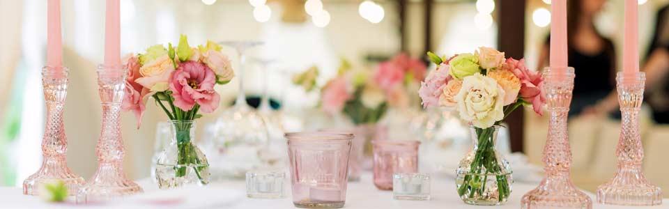 Dekoration für Ihre Hochzeit in Hof und Umgebung