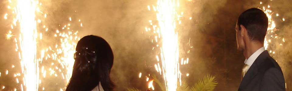 Feuerwerk für Ihre Hochzeit in Hof und Umgebung