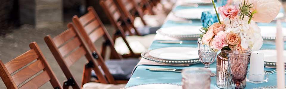 Verleihservice für Ihre Hochzeit in Hof und Umgebung