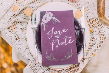 Save the Date Hochzeitskarten Bayern