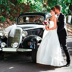 Hochzeitsauto-Oberfranken